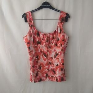 Tops - Ann Taylor floral blouse